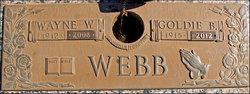 Goldie Bertha Bert <i>Jones</i> Webb