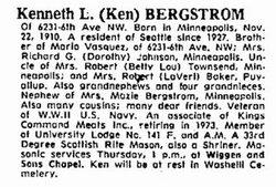 Kenneth Louis Bergstrom