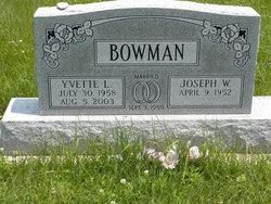 Yvette L. <i>Mills</i> Bowman