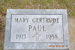 Mary Gertrude Paul