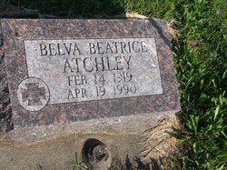 Belva Beatrice <i>Hiesser</i> Atchley