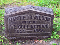 Harriet R <i>Wilson</i> Collingwood