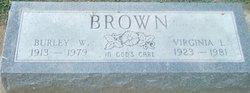 Virginia L Brown