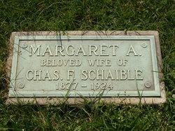 Margaret A. <i>Reis</i> Schaible