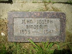 John Joseph Binderim