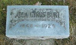 Adda <i>Cyrus</i> Burt