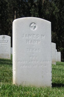 Pvt James Marion Harp
