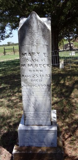 Mary Elizabeth <i>Dial</i> Beck