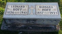 Barbara <i>Dutz</i> Hoff
