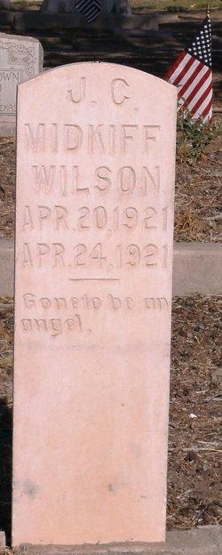 Joseph Charles Midkiff Wilson