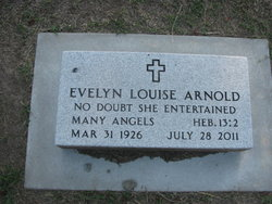 Evelyn Louise <i>Canfield</i> Arnold