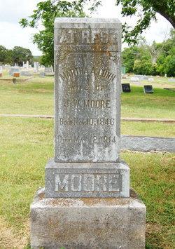 Martha A. <i>Gunn</i> Moore