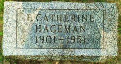 Flossie Catherine <i>Merica</i> Hageman