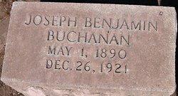 Pvt Joseph Benjamin Joe Ben Buchanan