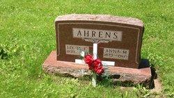 Anna M <i>Rogge</i> Ahrens