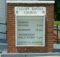 Calvary Baptist Church Cemetery
