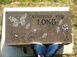 Catherine Ann Long