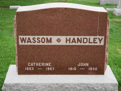 Catherine <i>Wassom</i> Handley