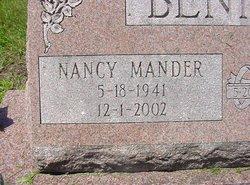 Nancy Ann <i>Mander</i> Bennett
