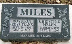 Christine Helen Miles