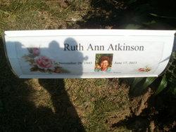Ruth Ann <i>Fike</i> Atkinson