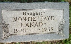 Montie Faye Canady