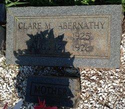 Clare M Abernathy