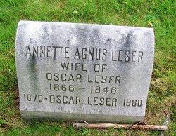 Annette <i>Agnus</i> Leser