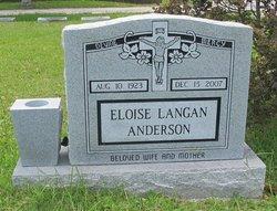 Eloise <i>Langan</i> Anderson