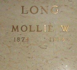 Mollie W <i>Matthews</i> Long
