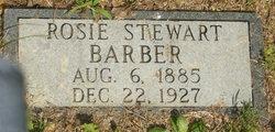 Rosie <i>Stewart</i> Barber