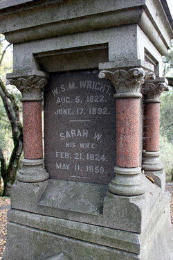 Sarah Wilcoxon <i>Boone</i> Wright