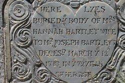 Hannah <i>Pope</i> Bartlet