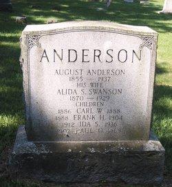 Alida Serafia <i>Swanson</i> Anderson