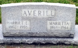 Harriet E Averill