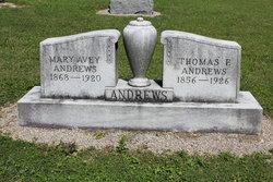 Mary <i>Avey</i> Andrews