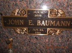 John Edward Baumann