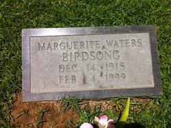Marguerite <i>Waters</i> Birdsong