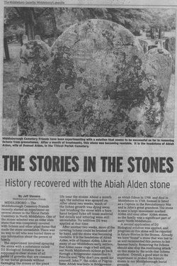 Abiah <i>Edson</i> Alden