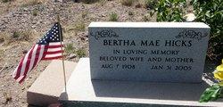 Bertha Mae Hicks