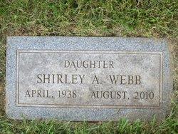 Shirley A Webb
