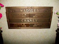 Gladys W Chaney