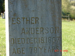 Esther <i>Crosby</i> Anderson