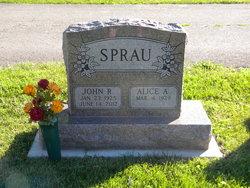 John R Jack Sprau