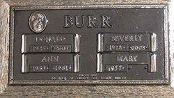 Donald B Burr