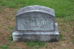 Maude <i>Wardlaw</i> Alley
