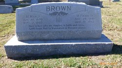 Marion Manly Brown
