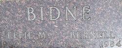 Effie Mamie <i>Siegfried</i> Bidne