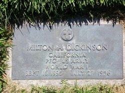 Milton Arthur Dick Dickinson