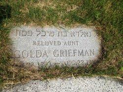 Golda R Griefman